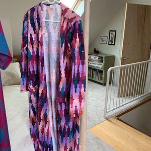 Lularoe long fall Sarah sweater cover